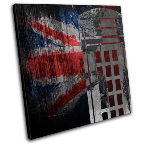Union Jack Grunge Post Box Urban - 13-6073(00B)-SG11-LO